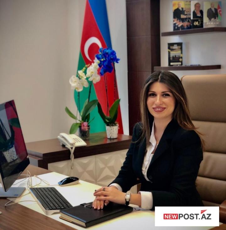 """Bakı Gənclər Mərkəzinin direktoru Nərgiz Babayevanın """"Newpost.az""""a təbrik mesajı"""