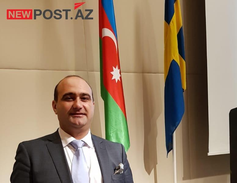 """İsveçdə yaşayan politoloq Turan Əliyevin """"Newpost.az""""a təbrik mesajı"""