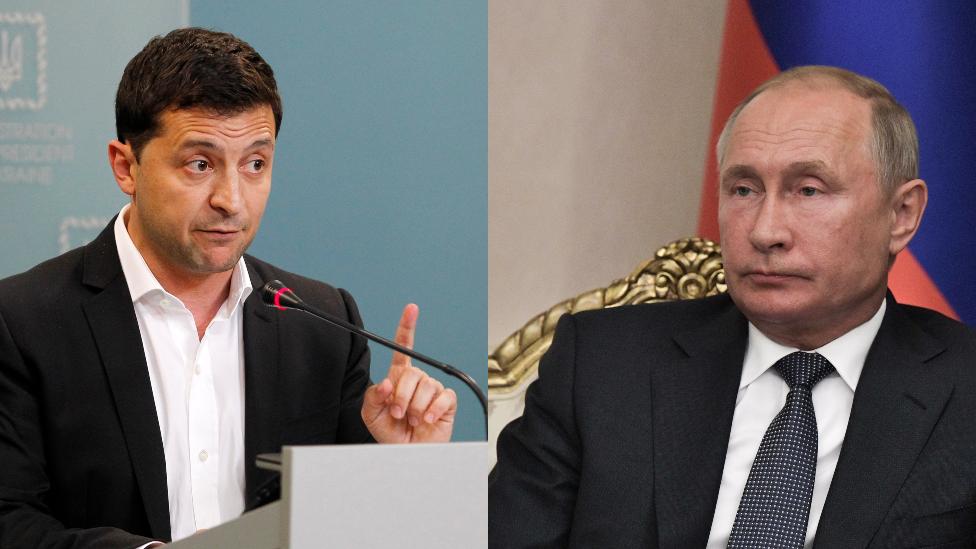 Putinlə danışığa getməkdən qorxmuram - Zelenski