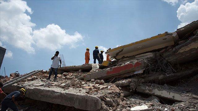 Hindistanda bina çöküb, dağıntılar altında qalanlar var