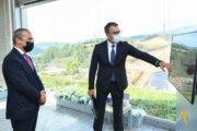 """Mikayıl Cabbarov """"Daşkəsən"""" dəmir filizi və """"Çovdar"""" qızıl yataqlarında -FOTO"""