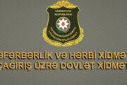 Səfərbərlik Xidməti məlumat yaydı