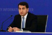 Hikmət Hacıyev: Azərbaycan və Türkiyə bir-birini tərəddüdsüz dəstəkləyir