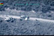 Düşmənin daha iki tankı məhv edildi - MN + VİDEO
