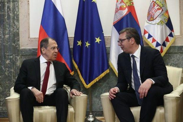 Serbiya prezidenti Trampla görüşü barədə Lavrova hesabat verdi