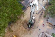 Tovuzda yeni avtomobil tunelinin inşasına başlanılıb