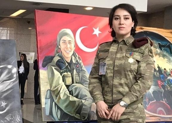 Azərbaycan mədəniyyətinin incisi - Ülkər Əbülfət - VİDEO + FOTO