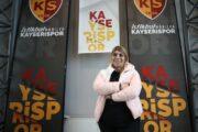 """Türk futbol klubunun ilk qadın prezidenti: """"İstərdik ki, Azərbaycandan futbolçular bizdə oynasın"""" - VİDEO"""