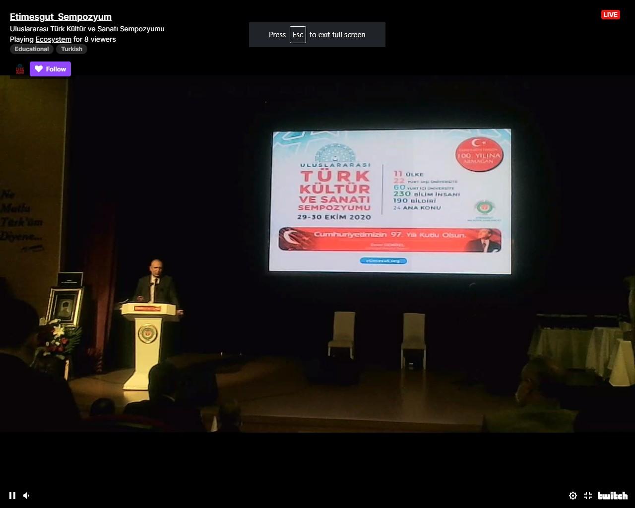 Azərbaycan İlahiyyat İnstitutunun kafedra müdiri  Beynəlxalq Simpoziumda iştirak edib - FOTO