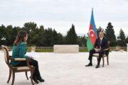 """Prezident """"Əl-Cəzirə"""" televiziya kanalına müsahibə verib"""