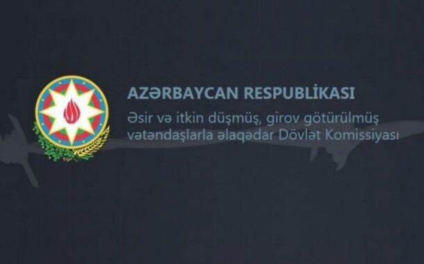 Dövlət Komissiyası: Ermənistan hərbçilərinin meyitlərini və mülki şəxslərini təhvil almır