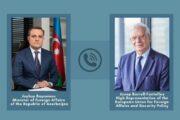 Ceyhun Bayramov Aİ rəsmisini Ermənistanın təxribatları barədə məlumatlandırıb