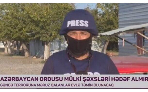 AzTV-nin əməkdaşı cəbhə bölgəsində yaralandı