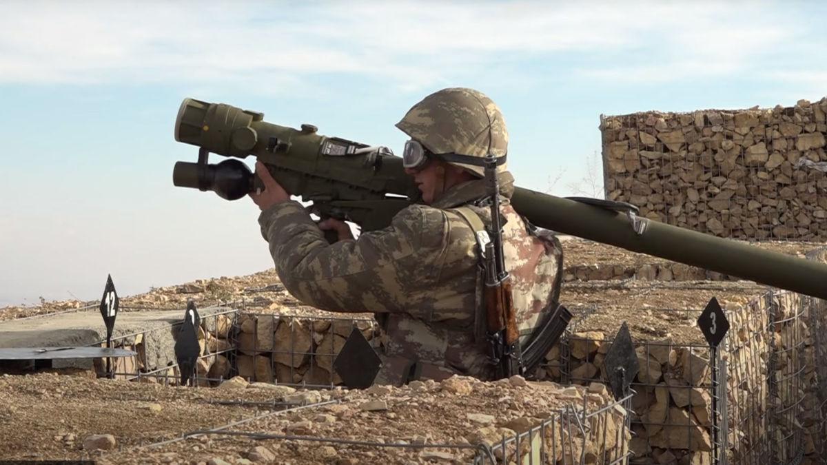 Naxçıvanın yüksək dağlıq zonalarında etibarlı müdafiə sistemi qurulub - VİDEO