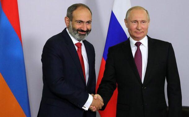 Paşinyan bir saat ərzində 2 dəfə Putinə zəng edib