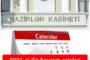 DİQQƏT!!! 2021-ci ilin bayram günləri AÇIQLANDI
