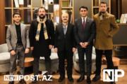 Azərbaycan Gənc Sahibkarlar Klubunun koordinatoru Türkiyəyə səfəri çərçivəsində bir qrup iş adamı ilə  görüşlər keçirib - FOTO