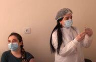 Gəncədə də vaksinasiya başlanılıb - VİDEO
