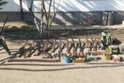 Xocavənddə Ermənistan ordusunun atıb qaçdığı silah-sursat aşkar edilib