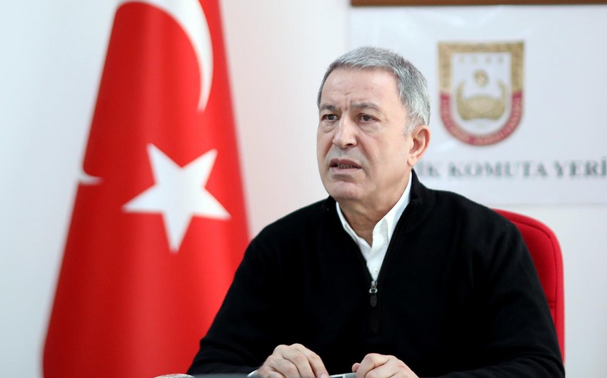 """Hulusi Akar: """"PKK-ya böyük zərbə vurduq, təşvişdədirlər"""""""