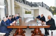 Prezident AKP sədrinin birinci müavinini qəbul etdi - Foto