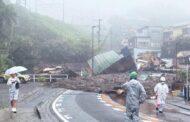 Yaponiyada sürüşmə nəticəsində ölənlərin sayı 15 nəfərə çatıb
