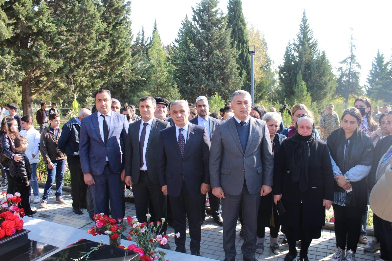 Yevlaxda Vətən Müharibəsi şəhidlərinin xatirələri anılıb - FOTO
