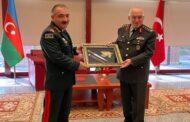 Azərbaycan və Türkiyə Quru Qoşunları komandanları görüşdü - Fotolar